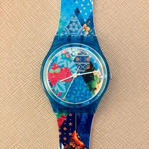 Sochi 2014 Olympics Swatch Watch
